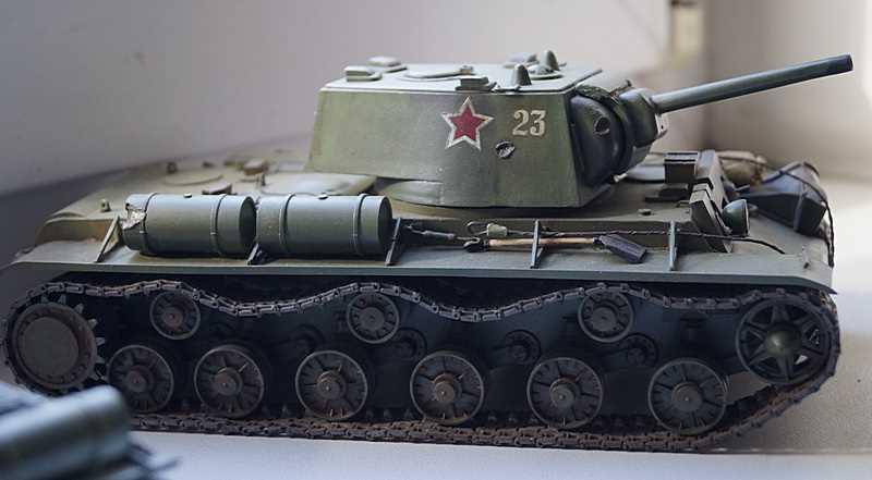 ИСУ-152 и КВ-1 от Leka