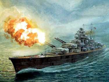 «Худ» против «Бисмарка»