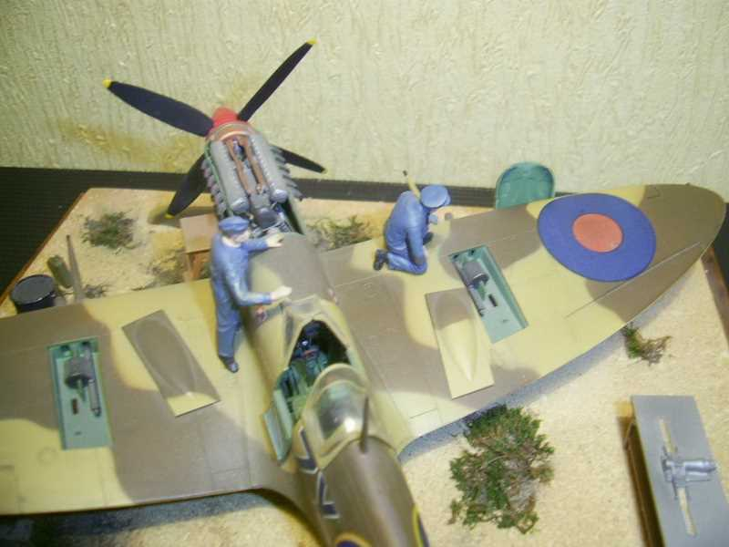 Spitfire IX ICM. от Vladimir WW