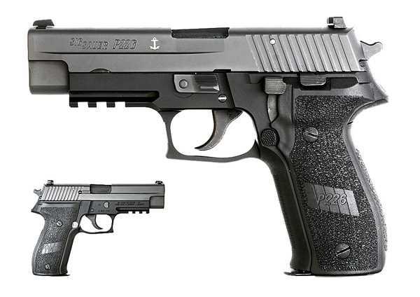 Шесть самых популярных  армейских пистолетов в мире