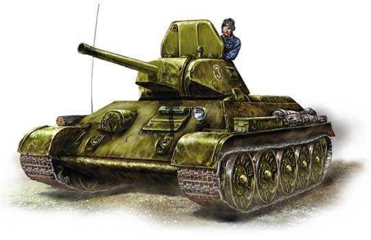 Т-34 образца 1941 г.