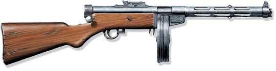 Пистолет-пулемет обр. 1934 г. ППД-34, СССР
