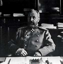 Командующий маньчжурской армией генерал А.Н. Куропаткин