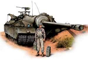 Тяжелый танк Т28 (он же — самоходная пушка Т95), США, 1945 год.