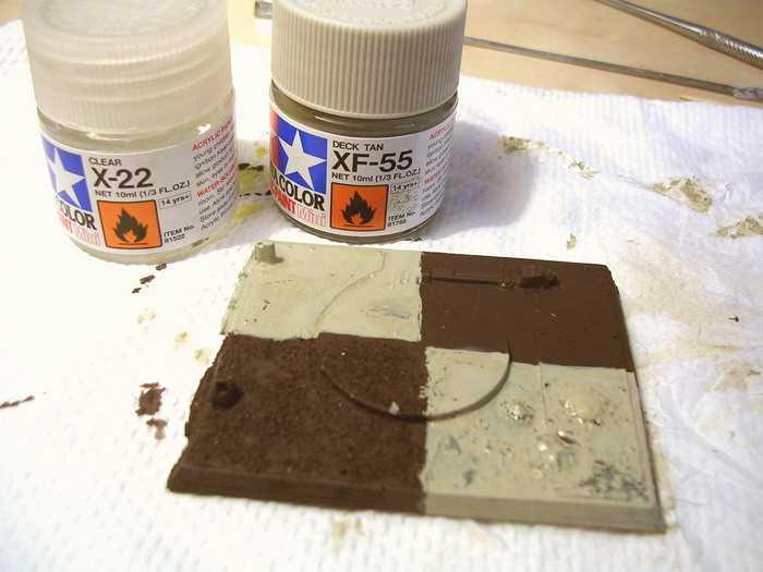 Техника имитации ржавчины (с использованием пигментов фирмы MIG)