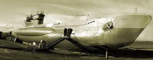 Несколько особенностей немецких субмарин