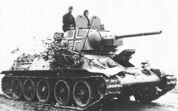 Т-34 на службе Вермахта