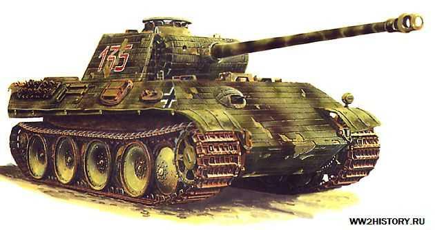 "Немецкий средний танк T-V Panther ""Пантера"" PzKpfw V «Пантера» (SdKfz 171)"