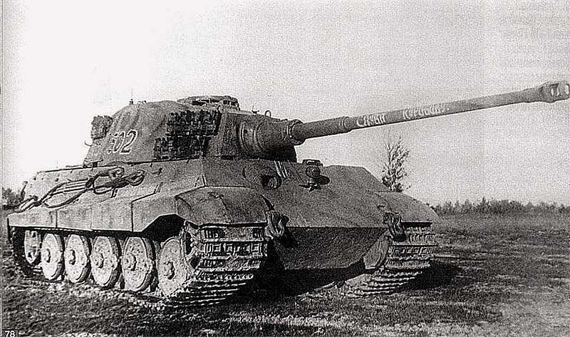 "Немецкий тяжелый танк Pz.Kpfw.VI Ausf.B ""Tiger II"" (Королевский Тигр)( Konigstiger / King(Royal)Tiger / Tiger II)"