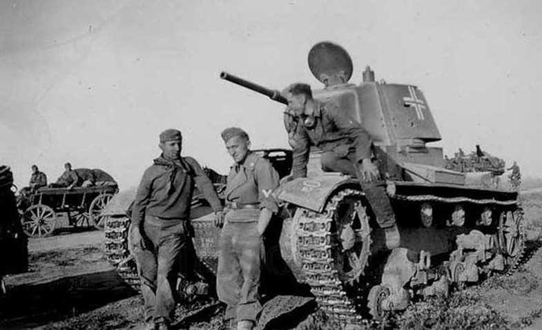 Трофейные танки на службе Вермахта