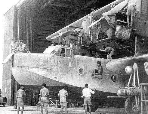 """Последние из могикан. Летающие лодки Шорт """"Сингапур"""" в войне с Японией."""
