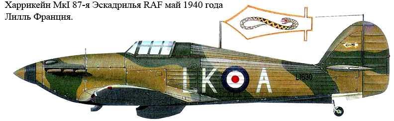 87-я Эскадрилья Королевских Военно-Воздушных сил.