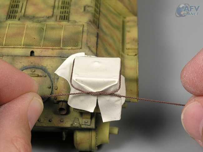 Техника моделирования флагов, брезента и других опознавательных знаков на бронетехнике