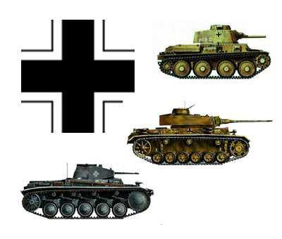 Немецкие танки на восточном фронте(1941-1942)