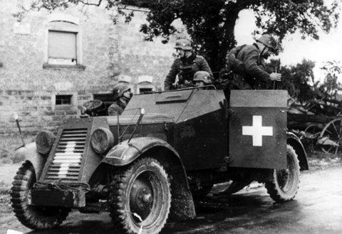 Adler Kfz.13 – Первый бронеавтомобиль Вермахта