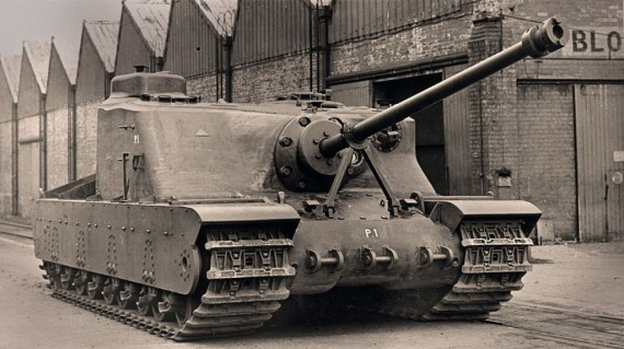 Тяжелый штурмовой танк Tortoise (A39)