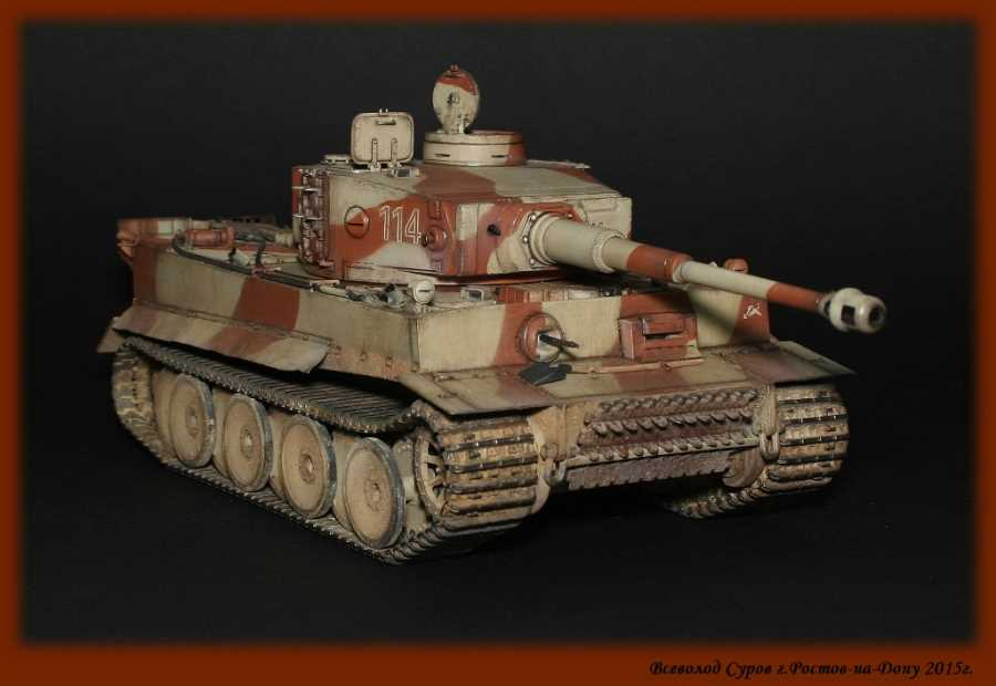 "Tiger I Ausf. E early 1/35 ""Звезда"" от Seva74"