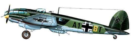 Средний бомбардировщик He-111 H-16 «Хенкель», Германия, 1942 г.