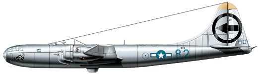 Стратегический бомбардировщик В-29 «Суперфортресс», США, 1943 г.