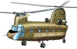 Герой Вьетнама «Boeing-Vertol Чинук»