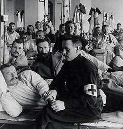 Русские раненые в госпитале