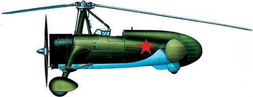 Автожиристребитель ЦАГИ А-12