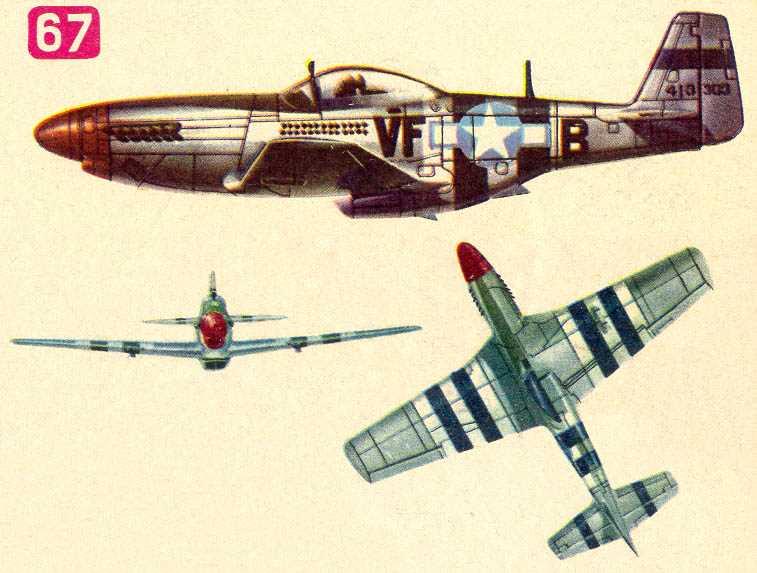 Внутри кабины самолета: американские истребители и бомбардировщики времен Второй мировой войны.